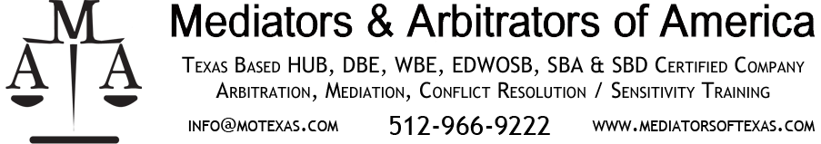 Mediation Training Classes – Mediators and Arbitrators of America